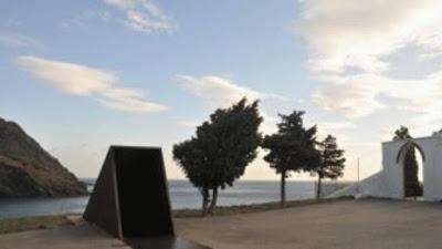 Memorial a Walter Benjamin por Dani Karavan en Port Bou