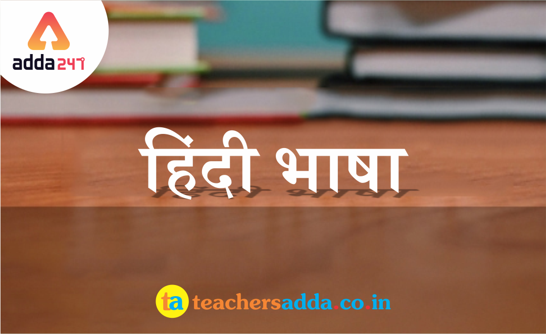 Hindi Questions For All Teaching Exam :22nd January 2019