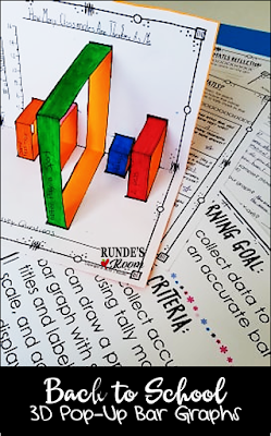 Runde's Room:  Back to School 3D Bar Graphs