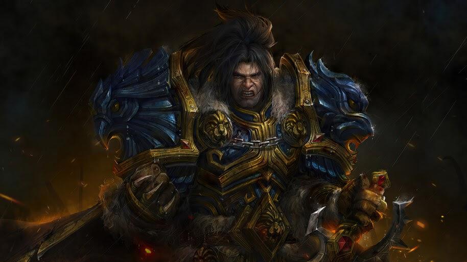 Varian Wrynn, World of Warcraft, 4K, #3.2707