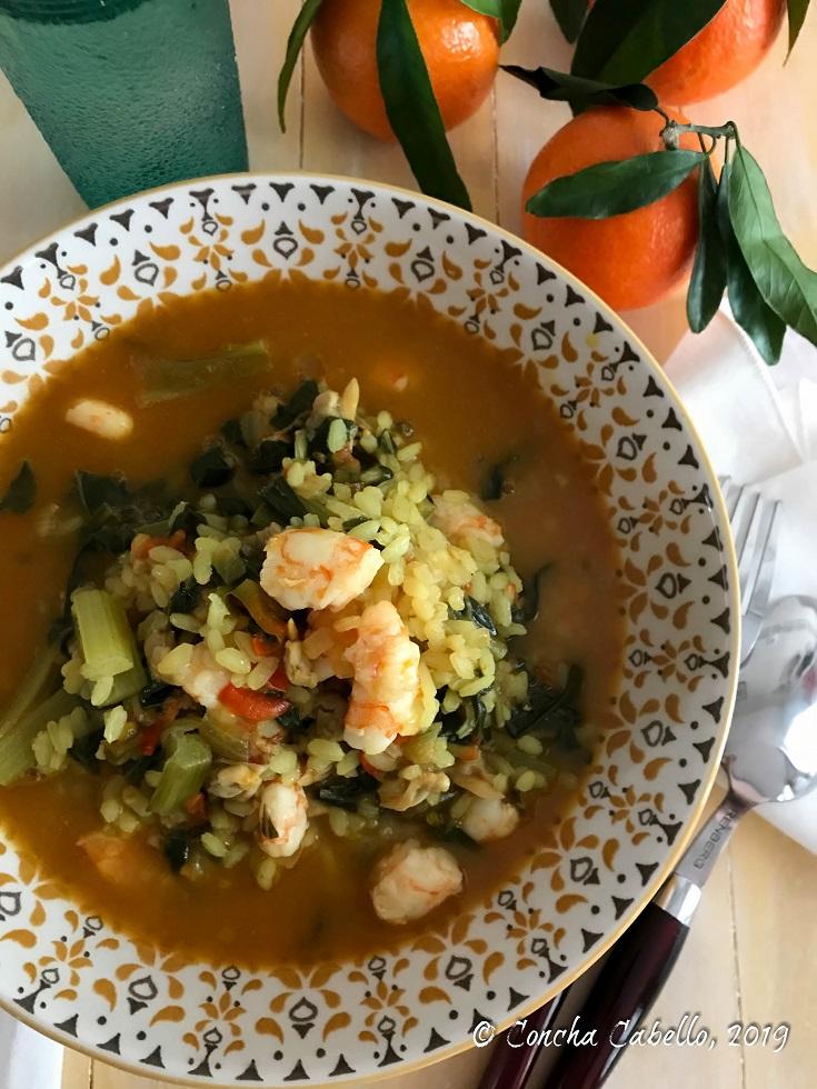arroz-acelgas-langostinos