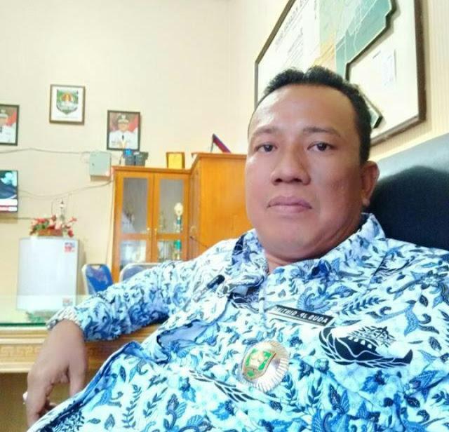 Camat Kisaran Barat Agus Jaka Putra Ginting.