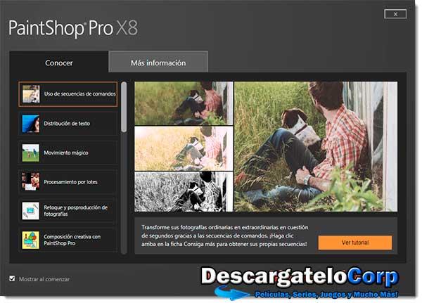 Corel PaintShop Pro X8 SP2 Español