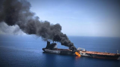 Oil tanker 'attacked by bomb-laden boat' in Jeddah