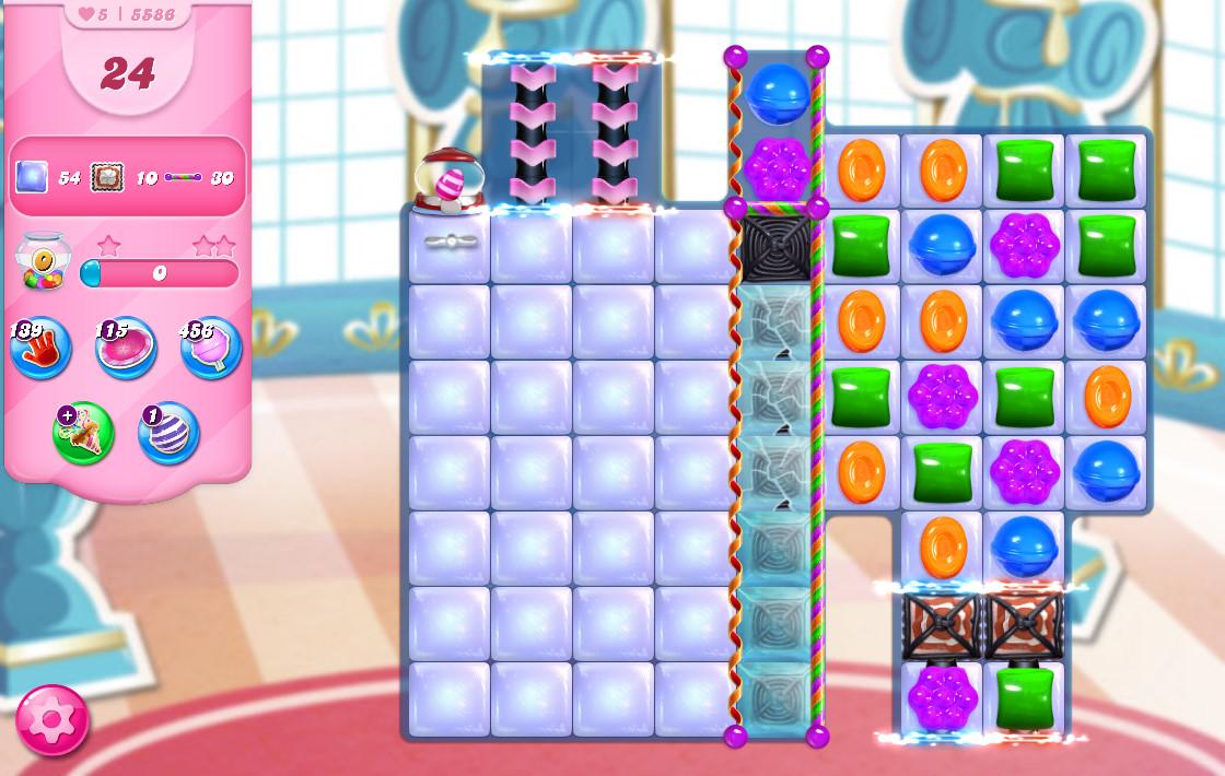 Candy Crush Saga level 5586