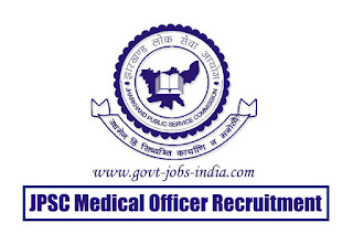 JPSC Medical Officer Recruitment