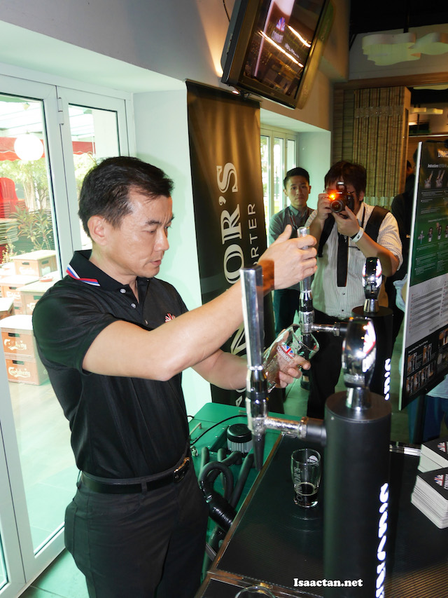 Alvin Yap, Draught Beer Services Manager of Carlsberg Malaysia