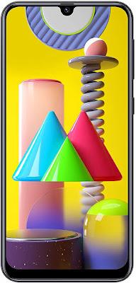 Samsung Galaxy M31 Dual SIM Smartphone, 128 GB, 6 GB RAM, 4G LTE