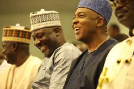 Dino Melaye Is Saraki's Son: How Tinubu Made Senate Erupt In Laughter