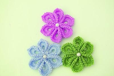 6 - Imagen Crochet Flor a crochet muy fácil y sencilla por Majovel Crochet