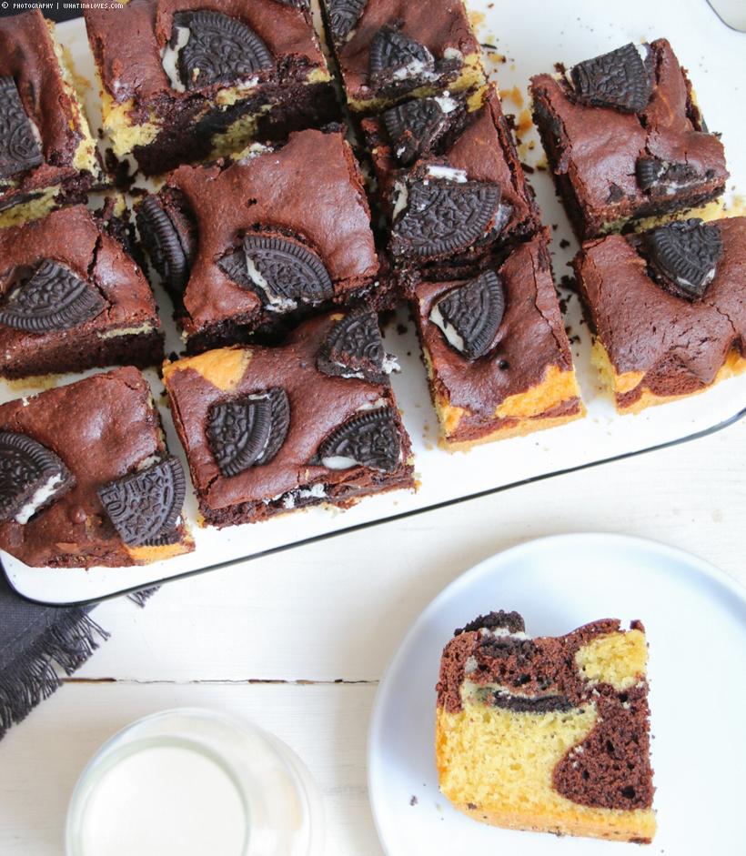 Oreo Black&White Cake