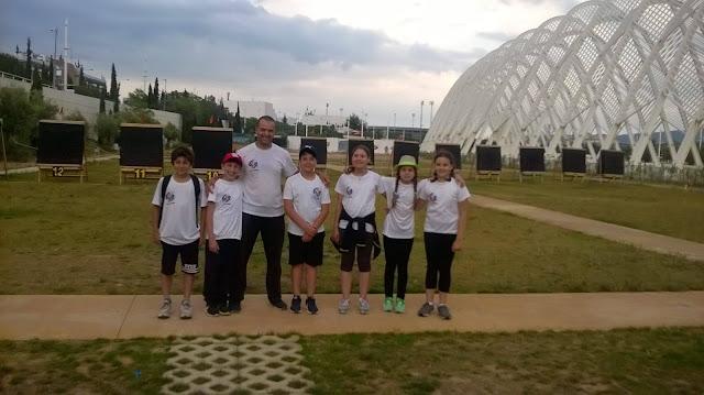 """Συμμετοχή Αθλητών του """"ΦΟΙΝΙΚΑ"""" σε Πανελλήνιο Αναπτυξιακό Αγώνα Ανοιχτού Χώρου στο ΟΑΚΑ"""