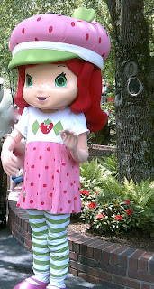 Strawberry Shortcake at Dollywood in Tennessee