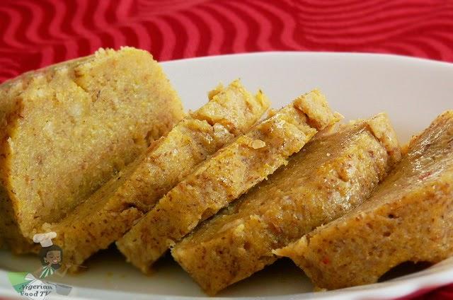 Plantain Moi Moi, Ukpo Ogede, Nigerian plantain recipes, Nigerian food TV