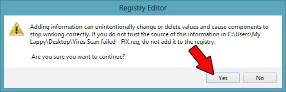 Virus Scan Fix