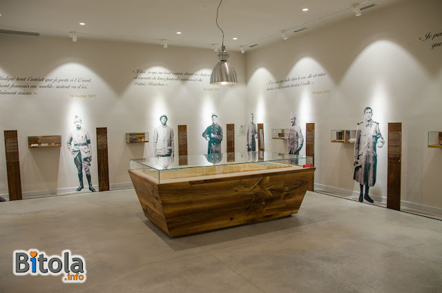 Memorial de Bitola - The memorial museum located at the French military cemetery in Bitola 3