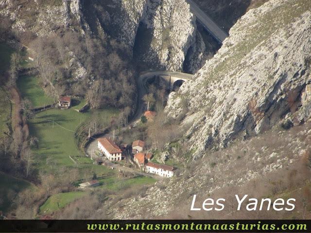 Vista de Les Yanes