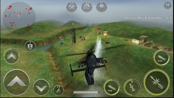 GUNSHIP BATTLE: HELICOPTER 3D GAME FOR ANDROID MOBILE-गनशिप बैटल: एंड्रॉइड मोबाइल के लिए हेलिकॉप्टर 3 डी गेम