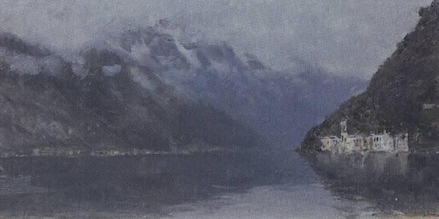 Исаак Ильич Левитан - Озеро Комо (2). 1894