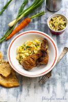 Kurczak z pastą curry i mlekiem kokosowym