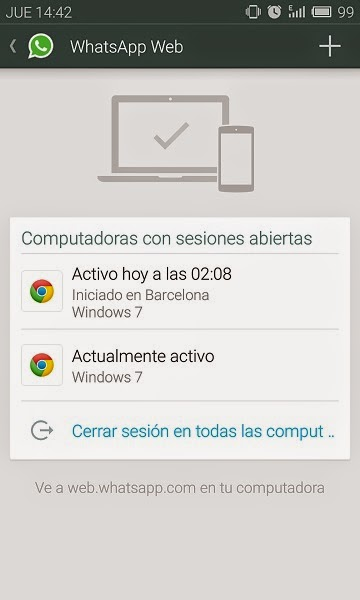 YoAndroideo.com: WhatsApp Web: WhatsApp ha llegado a ordenadores y tablets