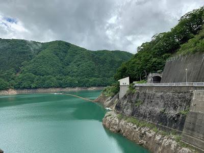 川治ダム湖