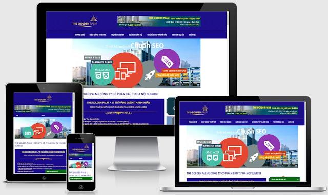 Template blogspot bất động sản chuẩn seo mới nhất