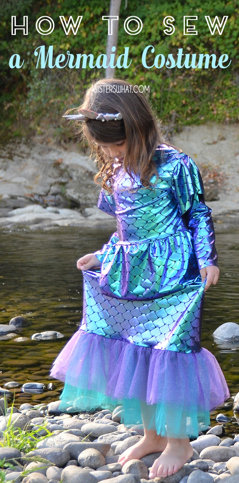 how to sew a mermaid costume
