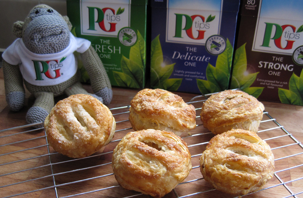 Carrot and Walnut Eccles Cakes