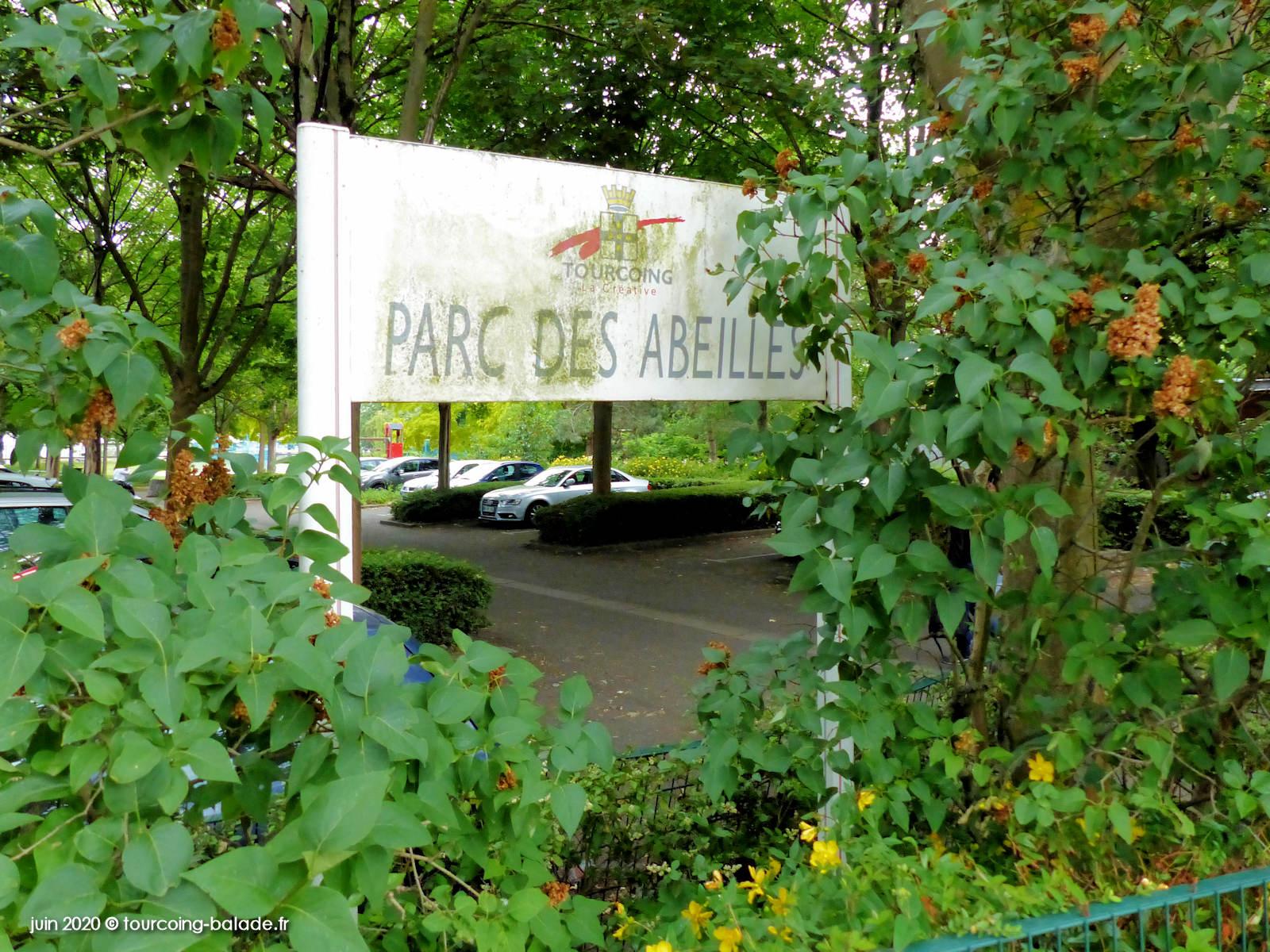 Panneau Parc des Abeilles, Tourcoing