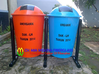daftar harga tong sampah fiber
