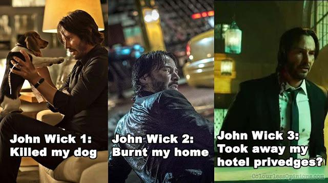 john wick 3 meme