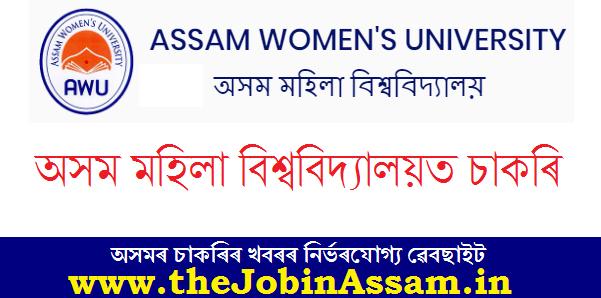 Assam Women's University, Jorhat Recruitment 2020