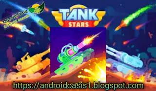تحميل لعبة نجوم الدبابات Tank Stars مهكره مجاناً اخر اصدار للاندرويد.