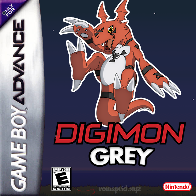 Digimon Grey