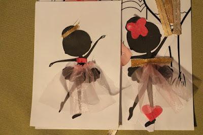 szablon baletnicy