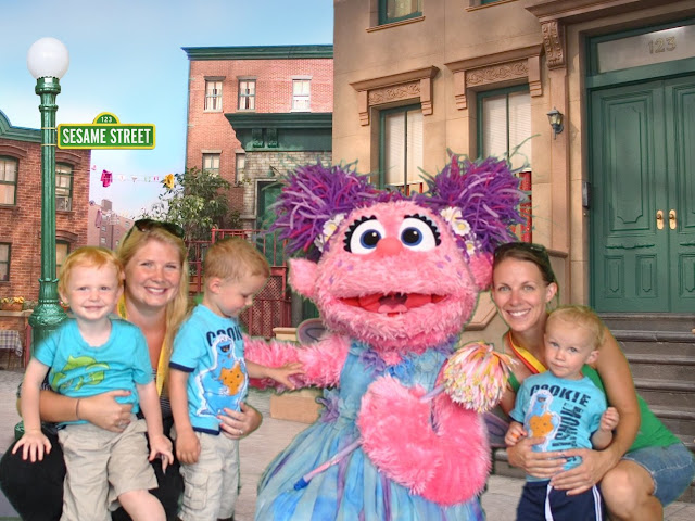 Abby Cadabby at Sesame Place