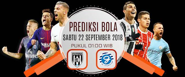 Prediksi Liga Eredivisie Belanda Heracles vs Graafschap 22 September 2018 Pukul 01.00 WIB