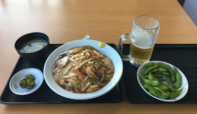 めぐみの湯 食事処の中華丼