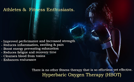 India. Hyperbaric Oxygen Therapy (HBOT) Chamber for Gym & Fitness Centers.