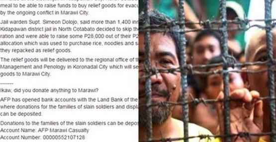 Mga Priso ng North Cotabato nag Ambag  ambag at umabot ito ng P28,000 Para sa mga Evacuees sa Marawi City!