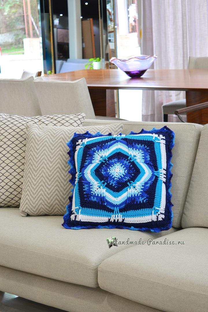 Схемы вязания интерьерной подушки (1)