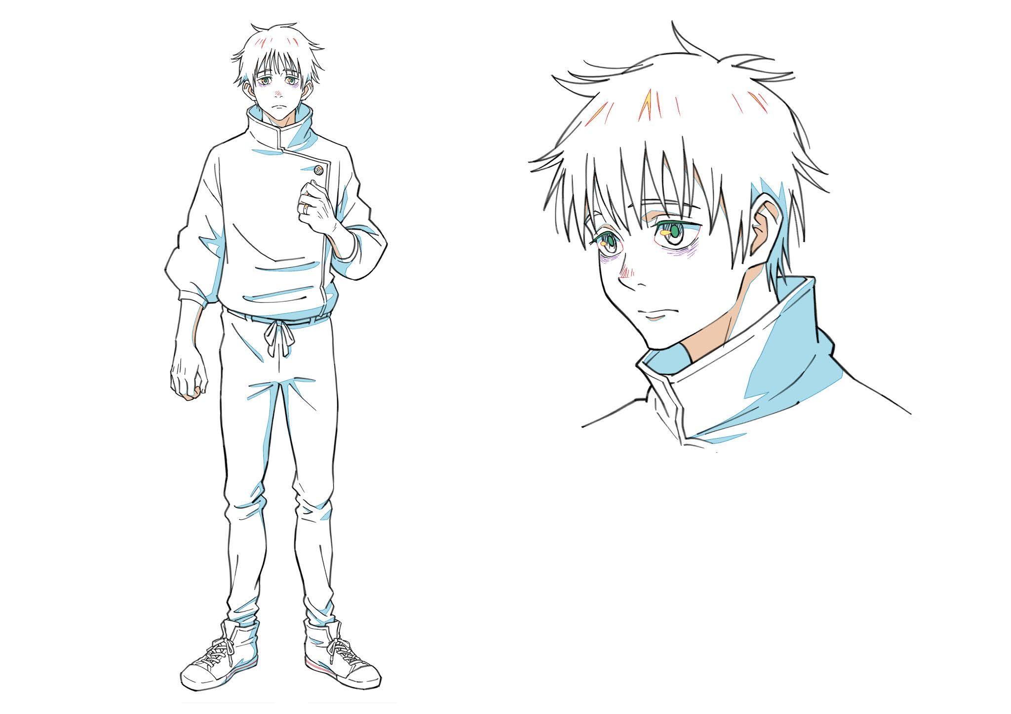 New Character Visuals for Jujutsu Kaisen 0 Movie Announced featuring Maki, Toge and Panda