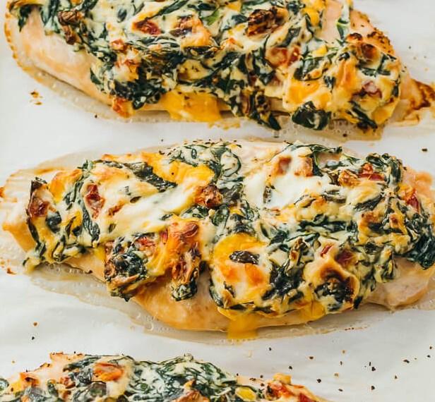 OVEN BAKED CHICKEN BREASTS (KETO RECIPE)  #ketorecipe #healthydinner