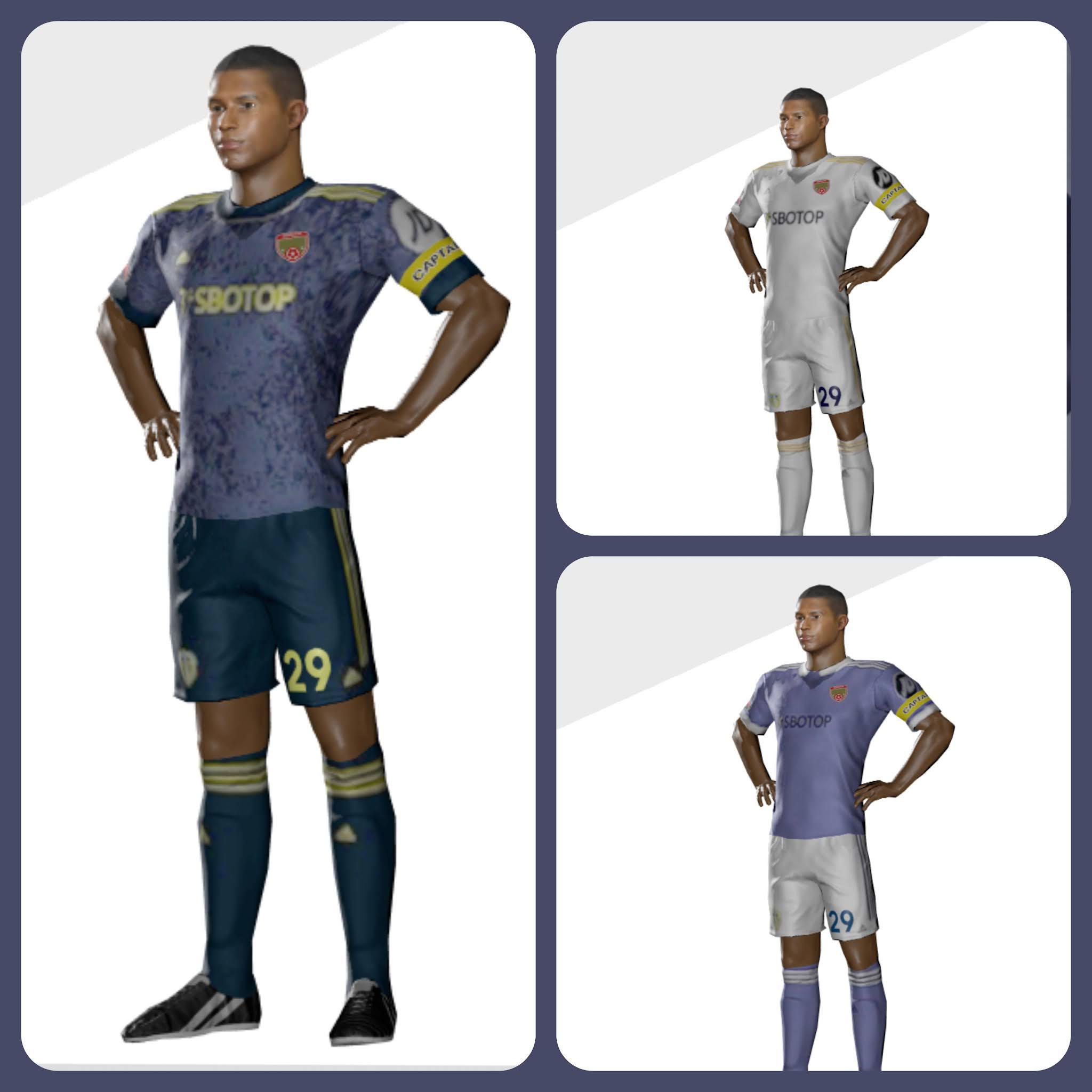 Kit leeds united dream league soccer
