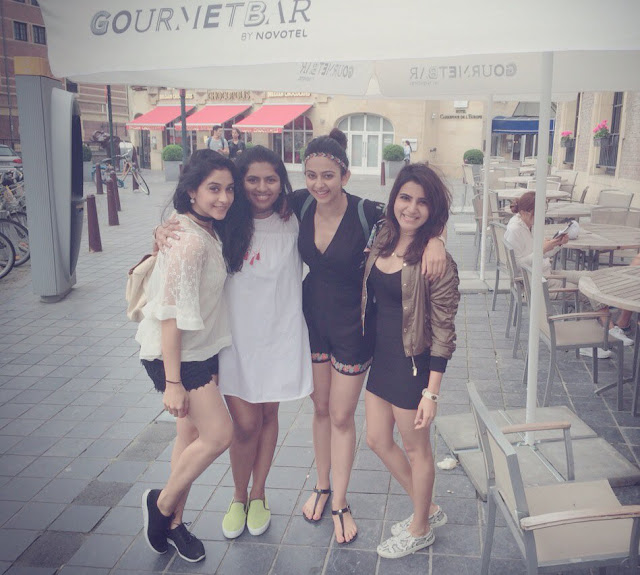 Samantha, Regina, Rakul Preet Enjoying Holiday Trip in Europe