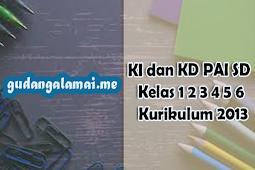 KI dan KD Pendidikan Agama Islam ( PAI ) SD/MI Kelas 6 Kurikulum 2013