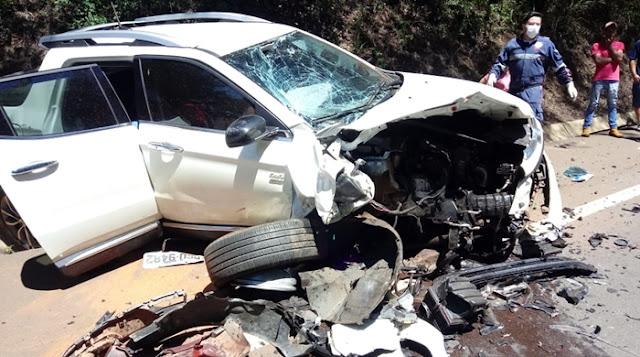 Iretama: Grave acidente deixa uma pessoa morta na BR-487