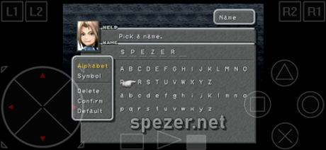 FF 9 Versi PS 1 Android