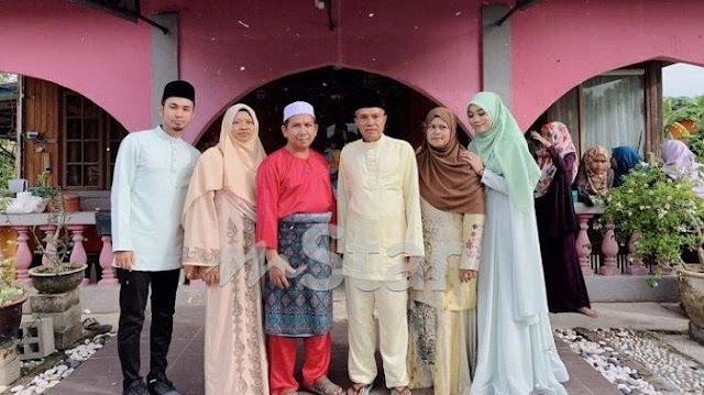 Potret keluarga Syuhaila (Mstar)